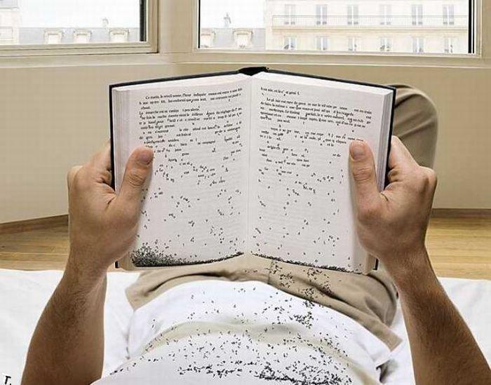 Открытки, картинка смешной книги