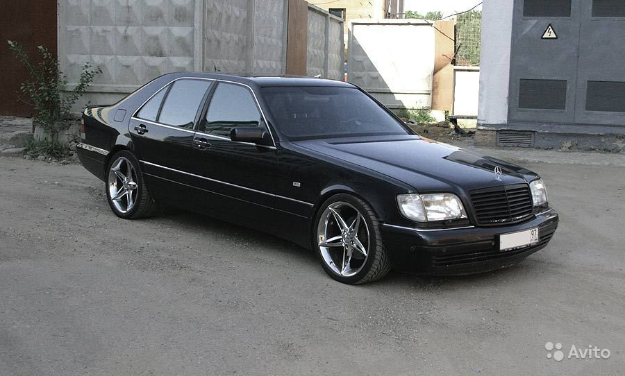 Benztuning Mercedes Benz W140 S600 Black Card From User