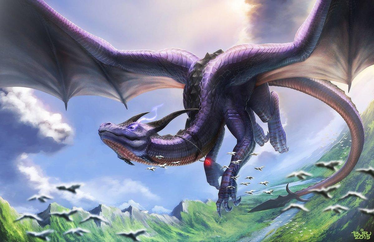 Редкие драконы картинки студии звучала