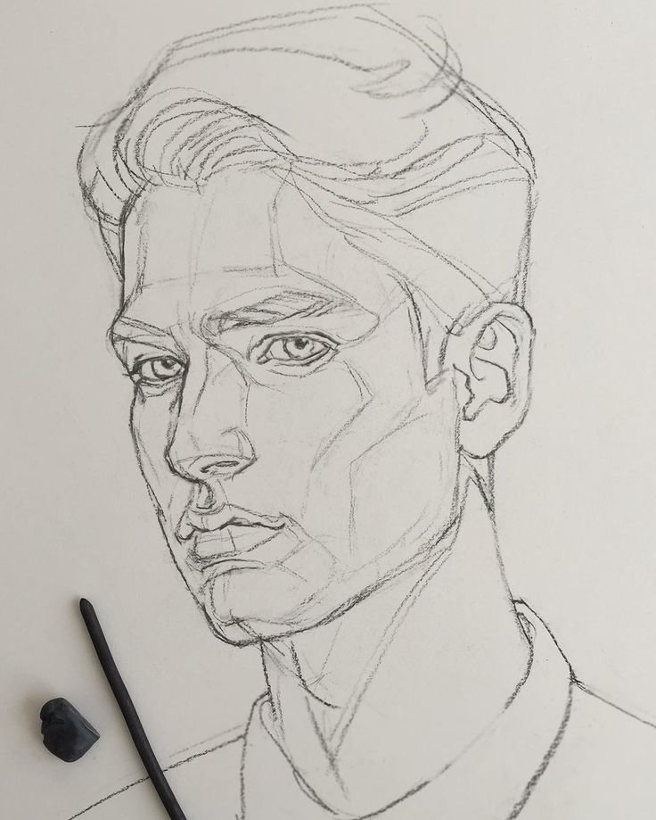Идея для рисунка карандашом, мужчине прости все