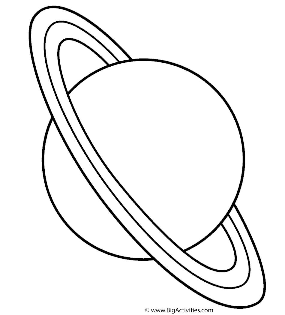 раскраска нептун планета распечатать