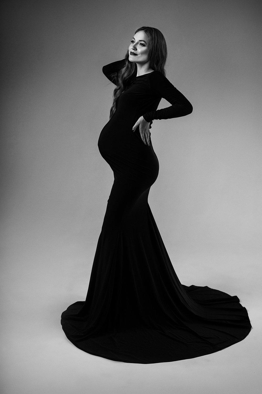 Девушки в черном платье фото