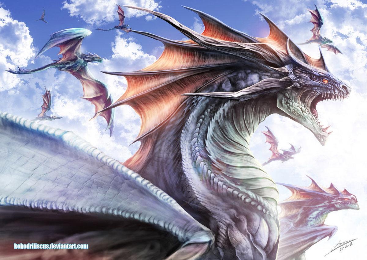 Самый большой дракон картинки