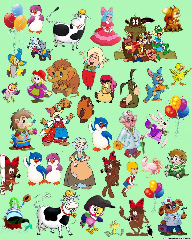 Картинки советских мультиков для детей