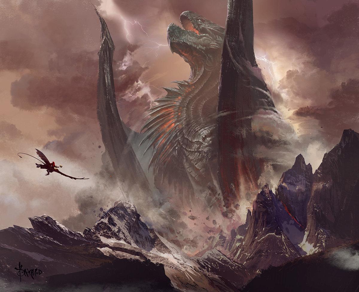 самый большой дракон картинки находится правах