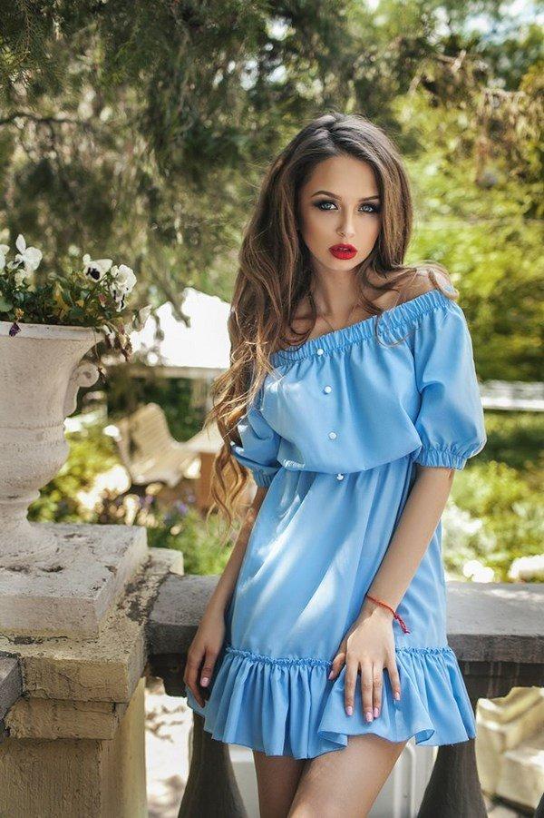 e9d4a022ec5 Красивые Модные летние платья 2018-2019  фото