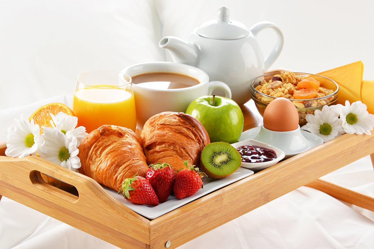 Утренний завтрак открытки