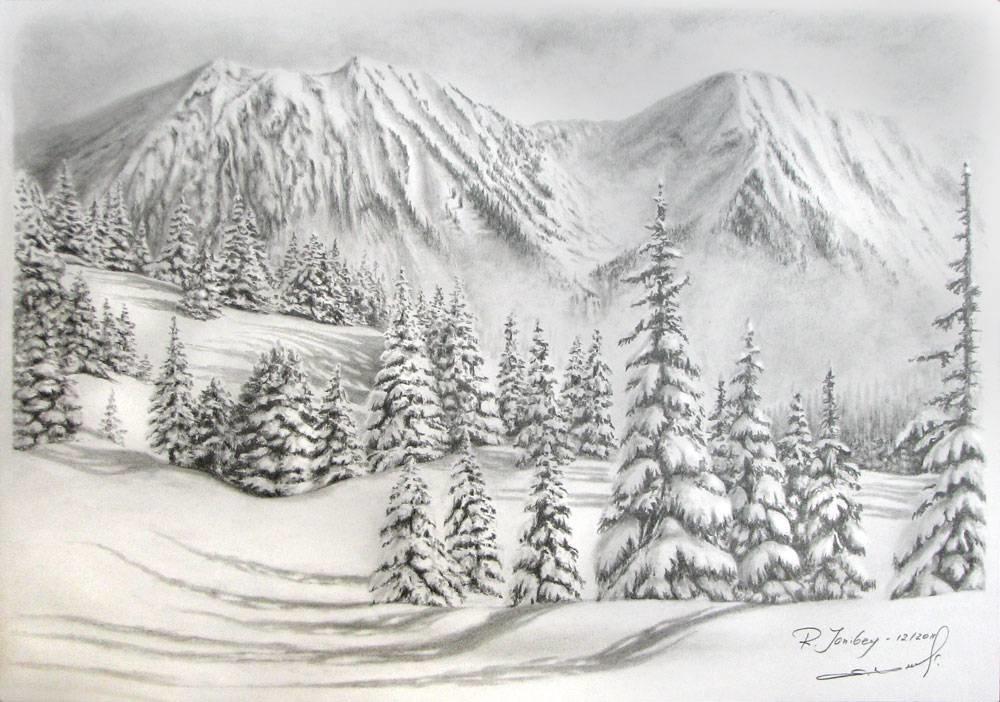жизненные, непридуманные картинка снежного леса срисовать день святого валентина