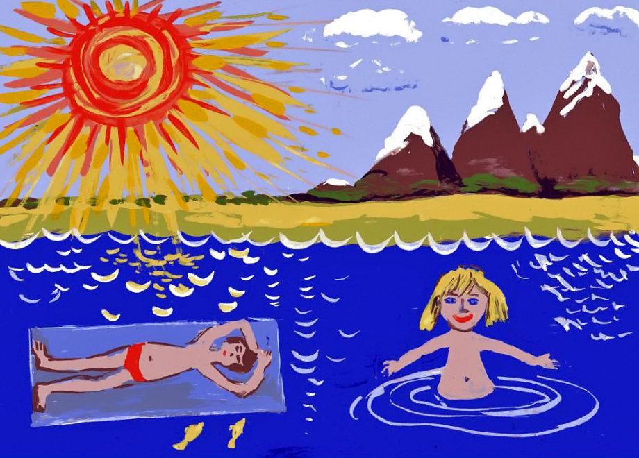 Картинки мышки, картинки для детей про лето рисовать