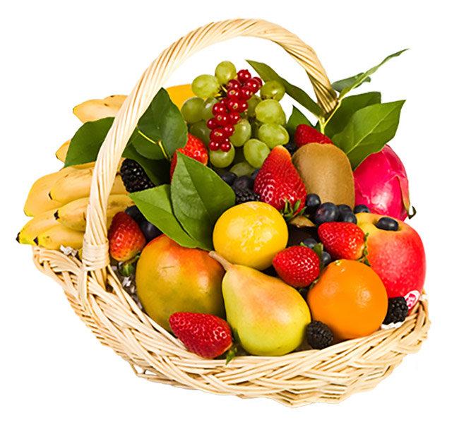 Открытки с фруктами и овощами