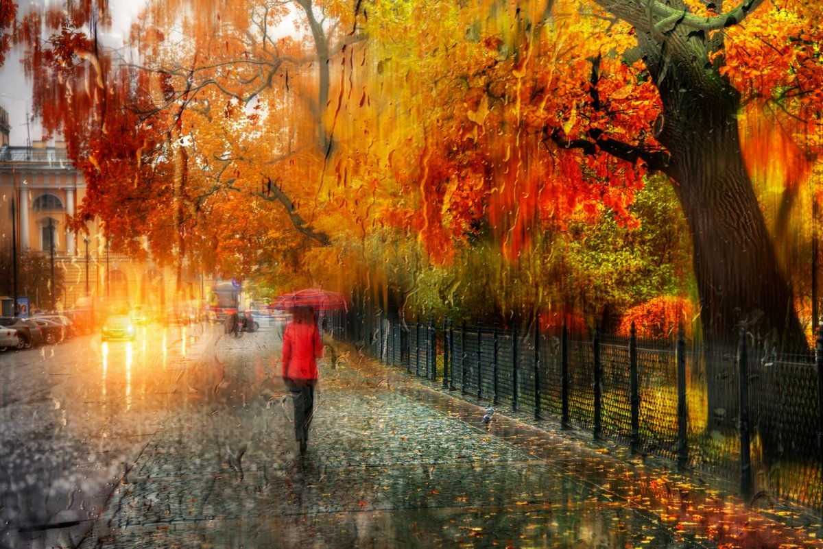 Осенние картинки с дождем красивые, надписью миссия невыполнима