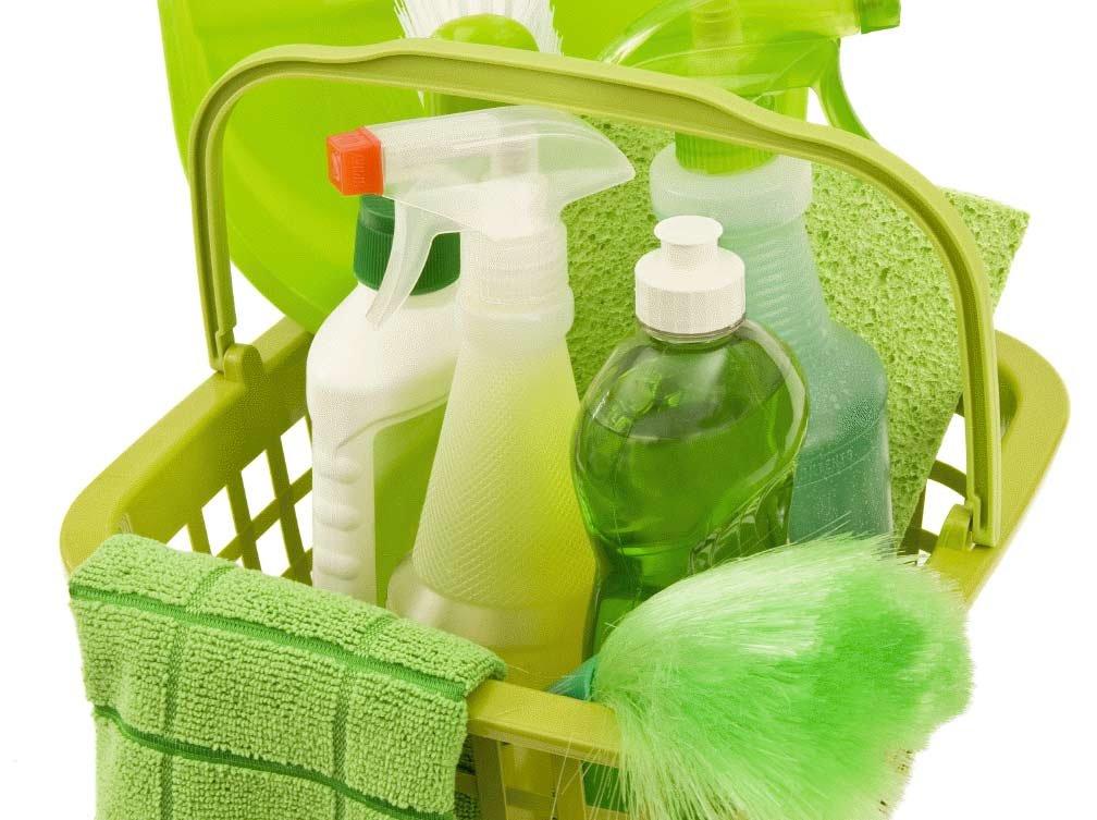 Органические чистящие средства фото