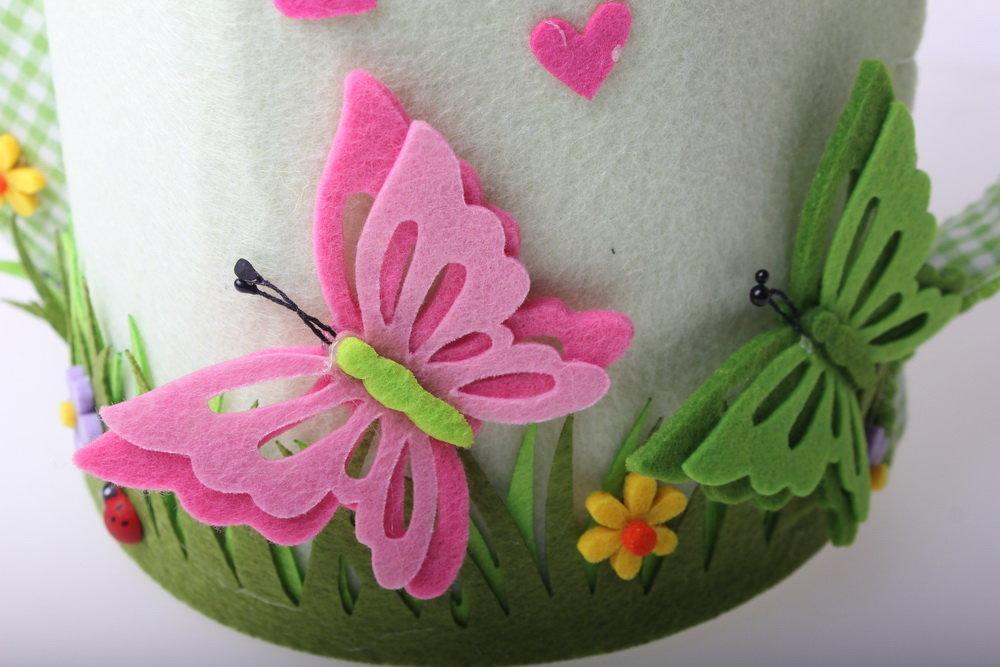 Цветы из фетра открытка, рождением ребенка музыкальная