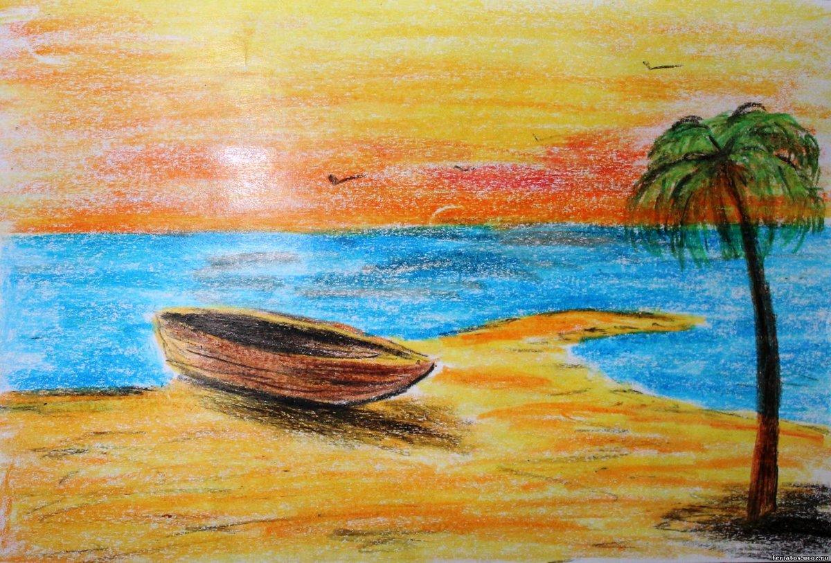 Картинки связанные с морем для срисовки