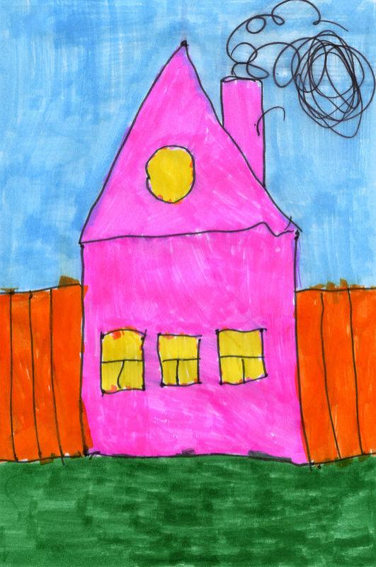 Картинки дом в котором я живу средняя группа