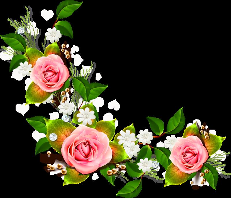 Папе день, рамки и цветы в открытки уголки