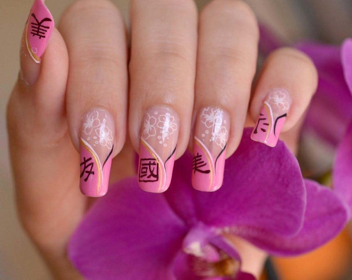 Картинки ногти рисунок китайский