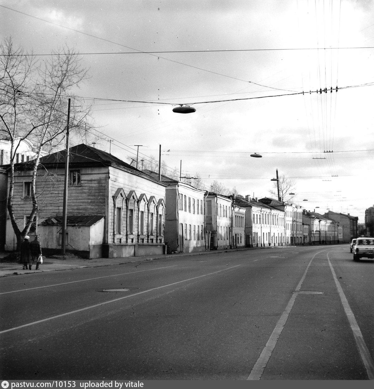 старые фото улицы городская г москва это из-за