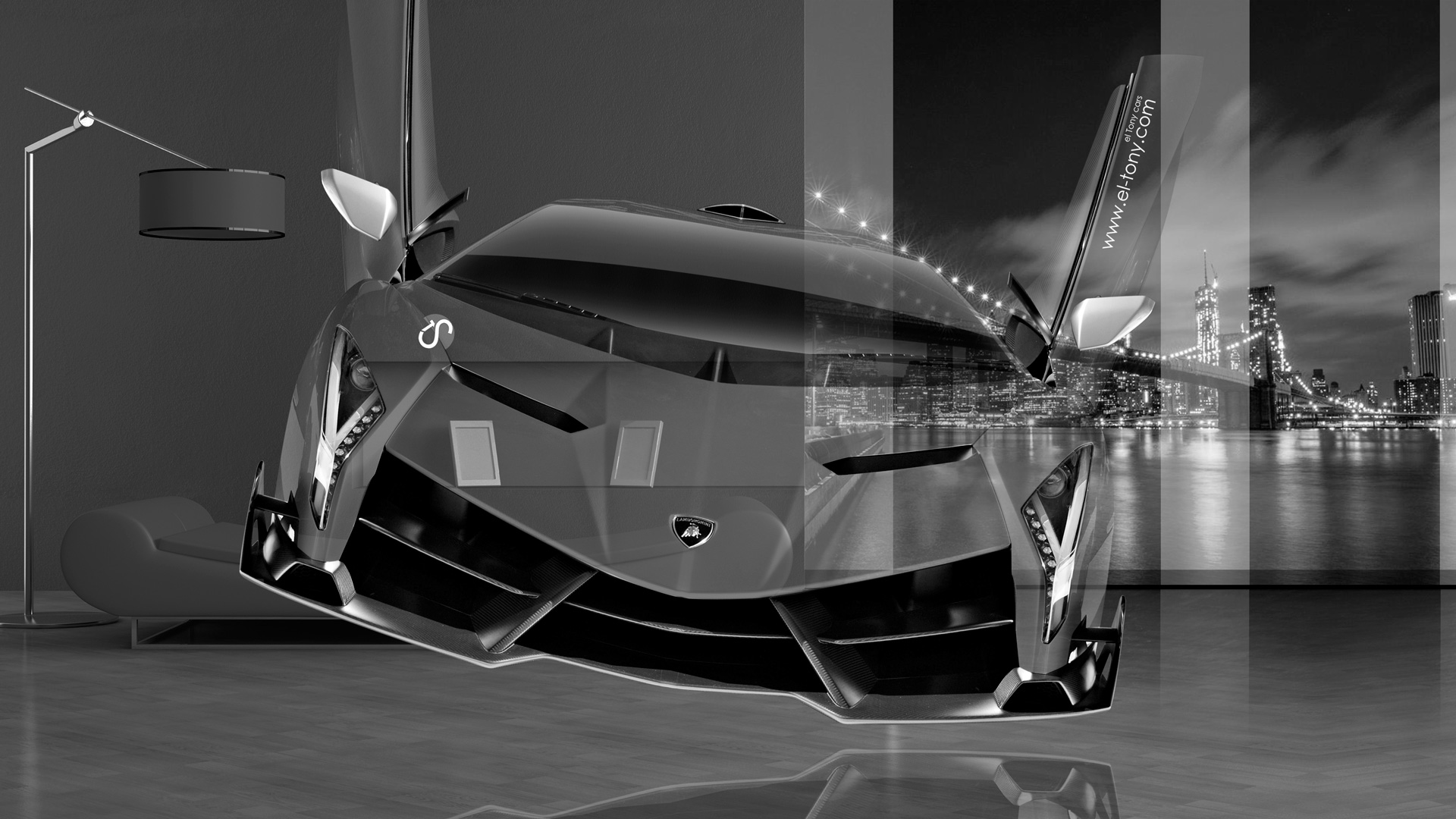 Lamborghini Veneno Open Doors Fantasy Crystal Home Fly Car 2014 Hd