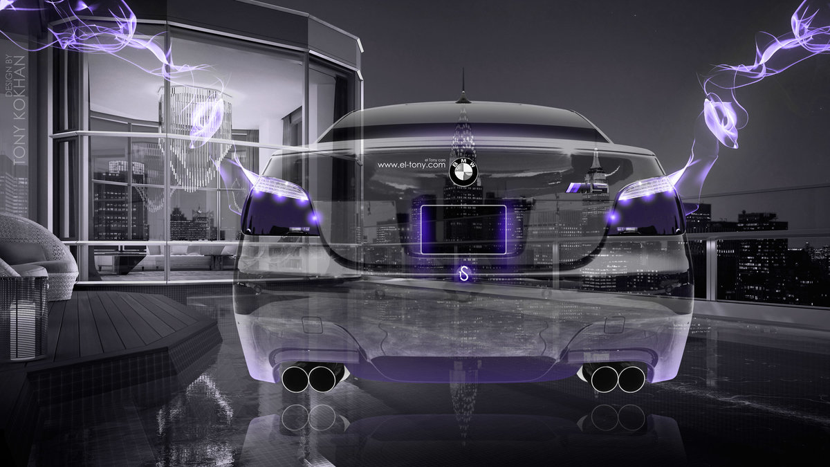 Wonderful BMW M5 E60 Back Fantasy Crystal City Home