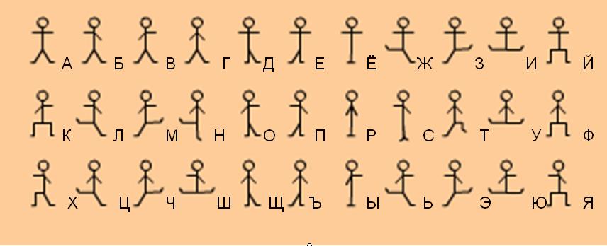 Зашифрованные имена в картинках