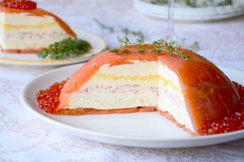 рыбный торт рецепт с фото из семги рижский рынок цветов