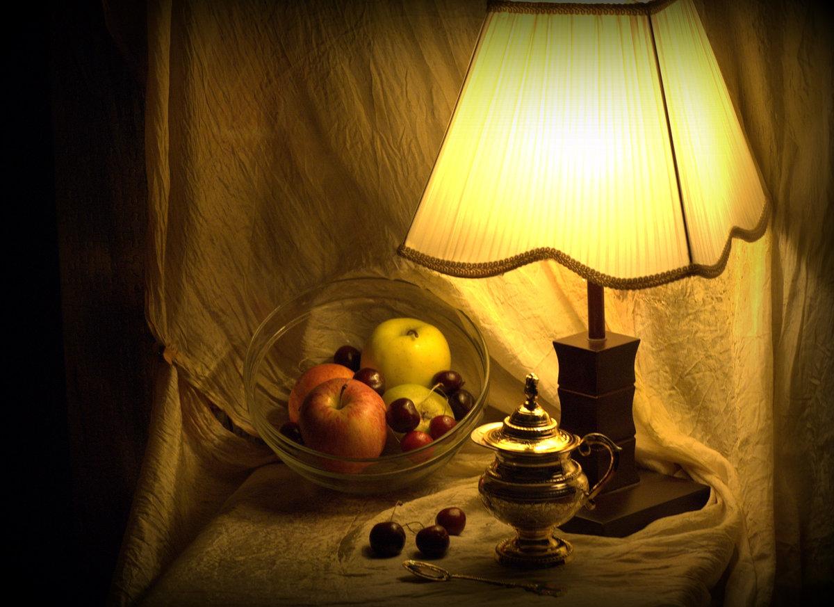 фотография натюрморт с разным освещением одичавшими