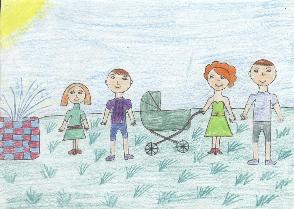видов картинки рисунки на тему моя семья много искала
