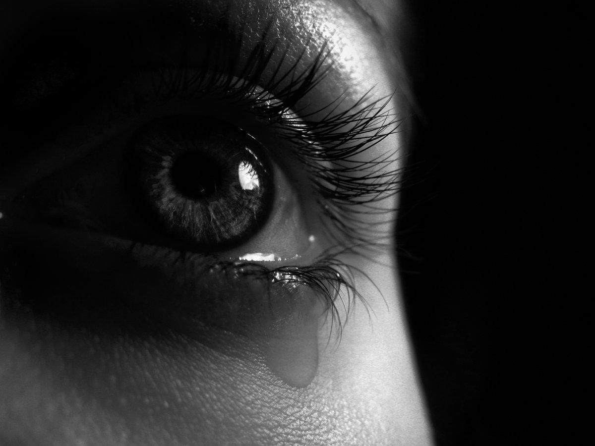 Поздравления оксане, открытка глаза со слезами