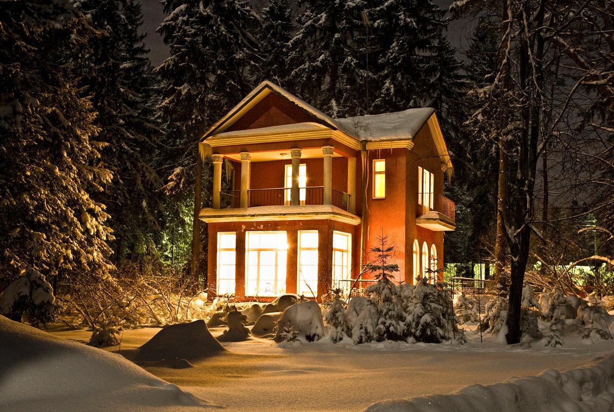 кого зимний дом фото картинки ручка
