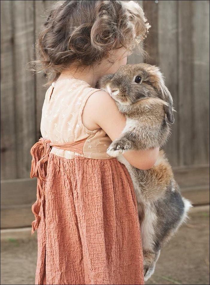 Детишки и волшебные кролики