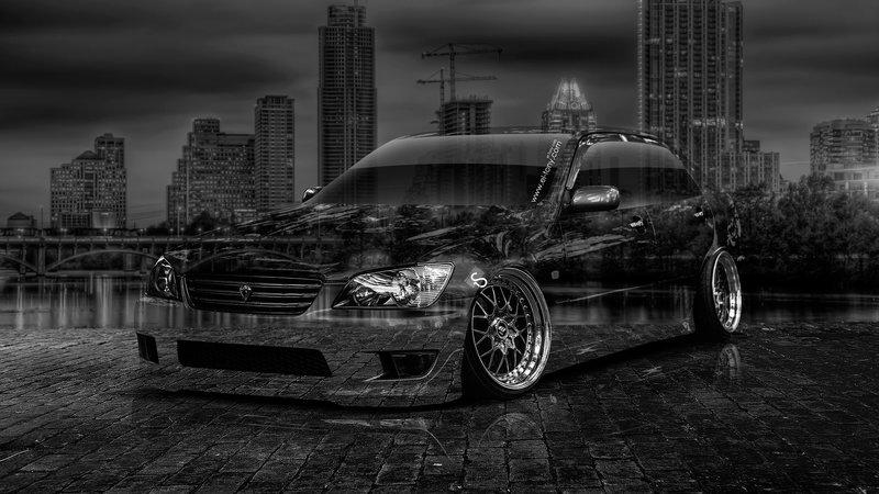 Toyota Altezza JDM Crystal City Car 2014 Art