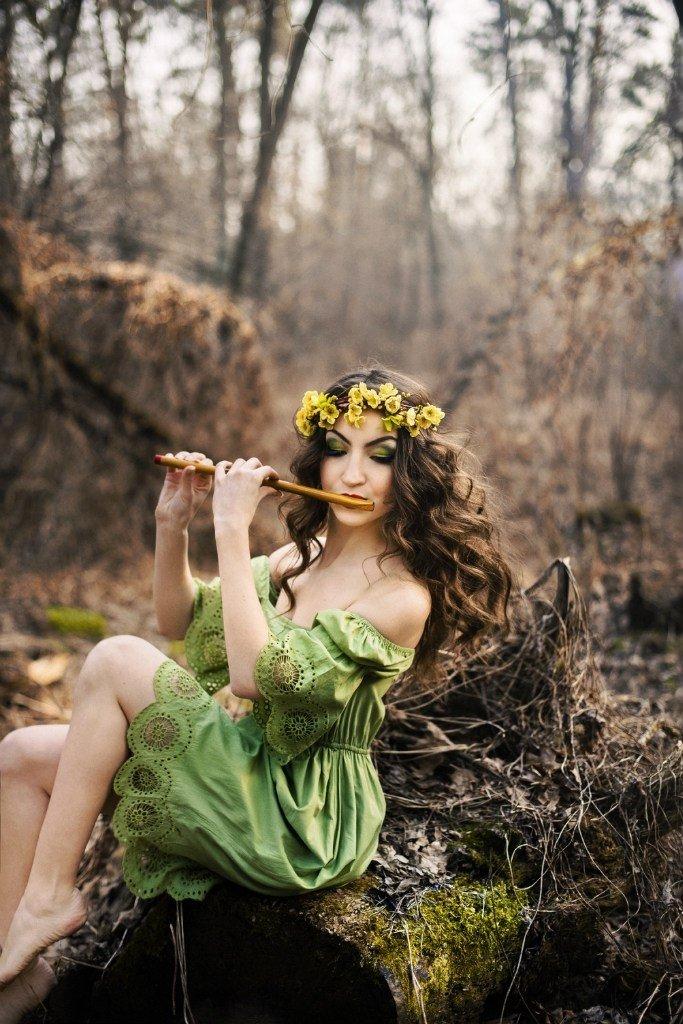 покупайте образ лесной нимфы для фотосессии если для