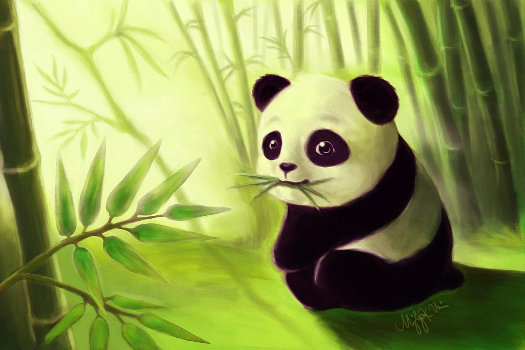 Картинки панды няшные