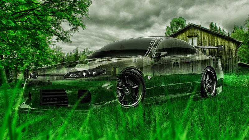 High Quality Nissan Silvia S15 JDM Crystal Nature Car 2014