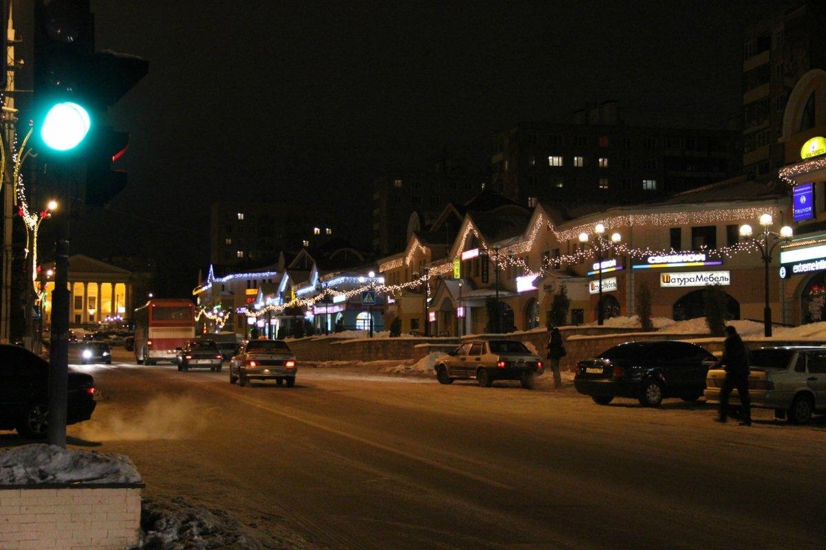 новые фотографии ночного зимнего дмитрова время