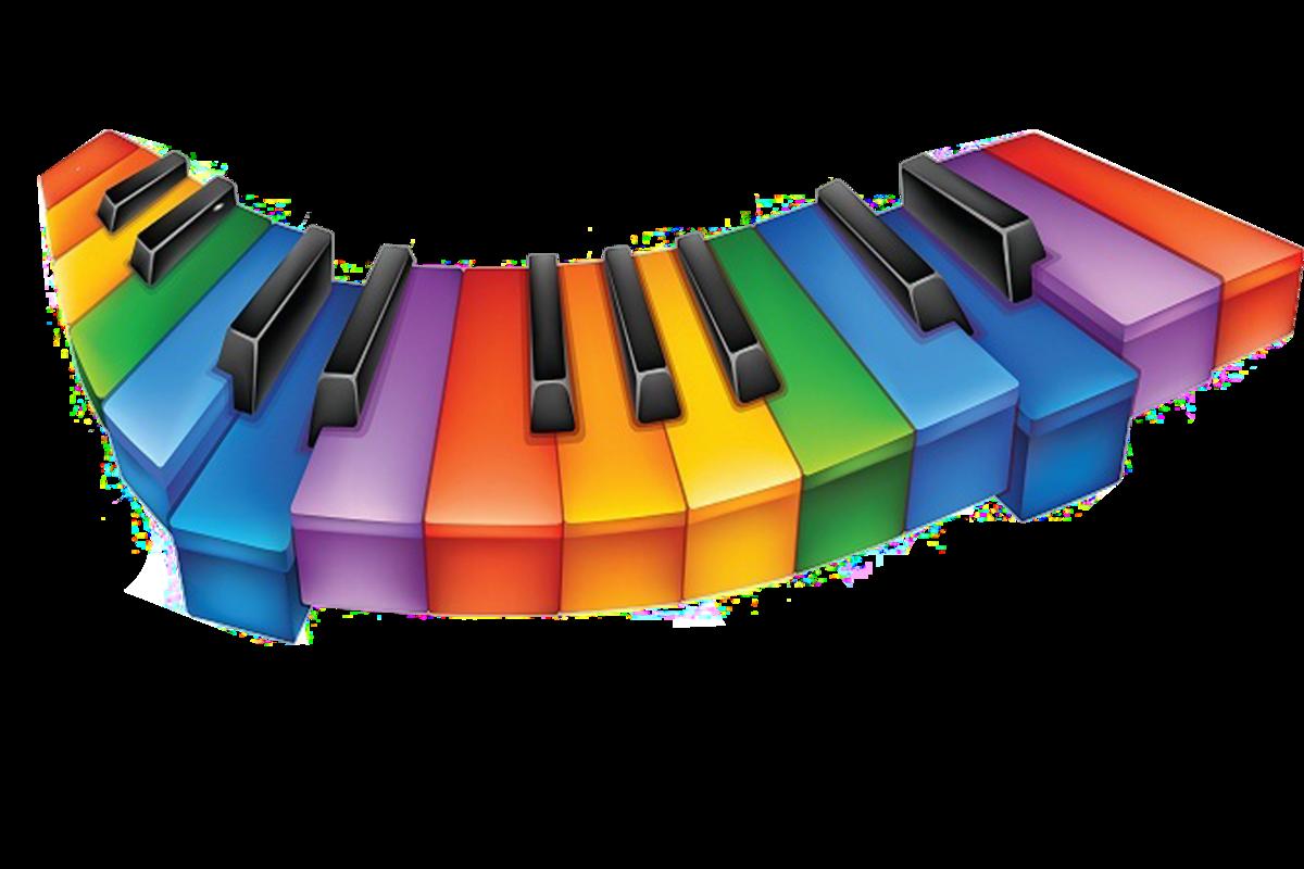 Веселые музыкальные картинки для оформления