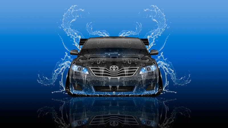Charmant Toyota Camry JDM Tuning Front Super Water Splashes