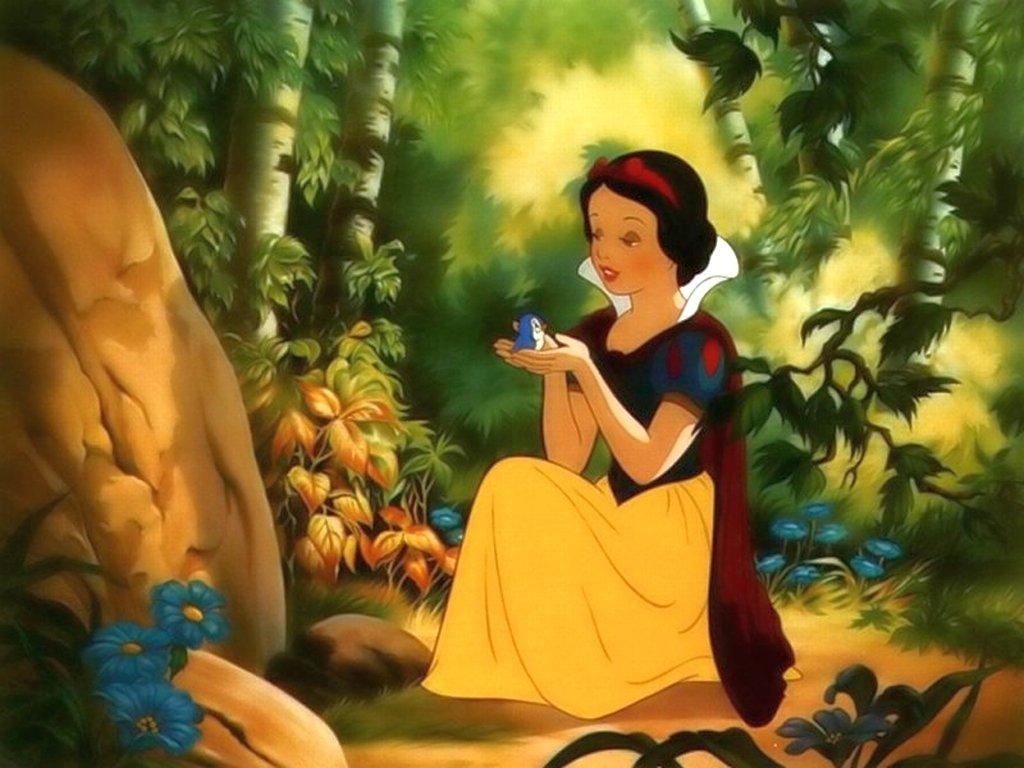 Картинка из сказки белоснежка