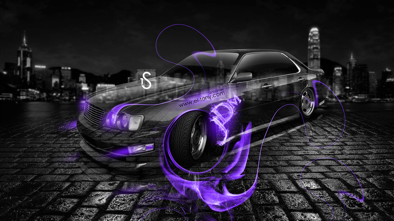 Attractive Nissan Cedric JDM Crystal Violet Fire Car 2013