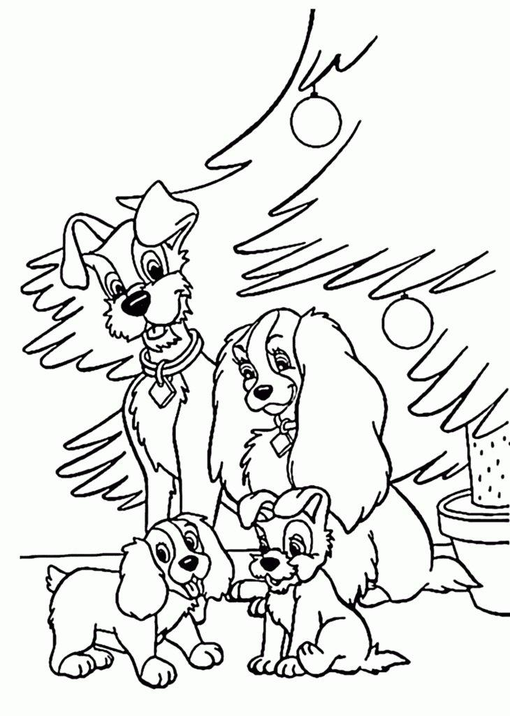 «Раскраска щенок. Распечатать раскраски собаки и щенки для ...