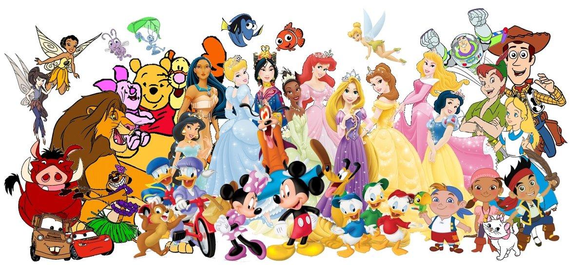 Картинки персонажи из мультфильмов диснея