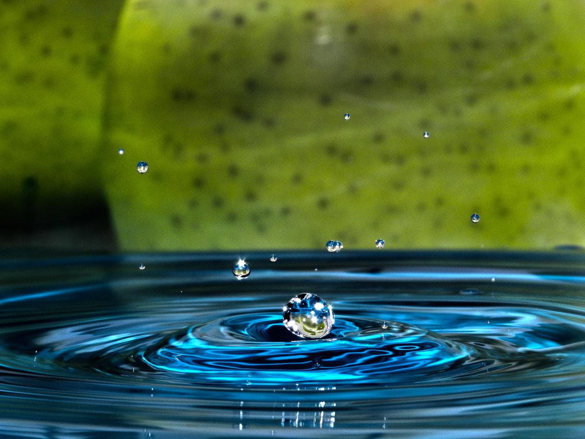 Картинки капающей воды
