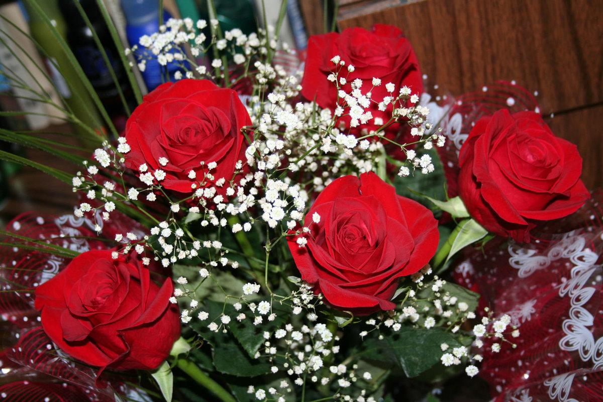 Букет цветов для жены картинки
