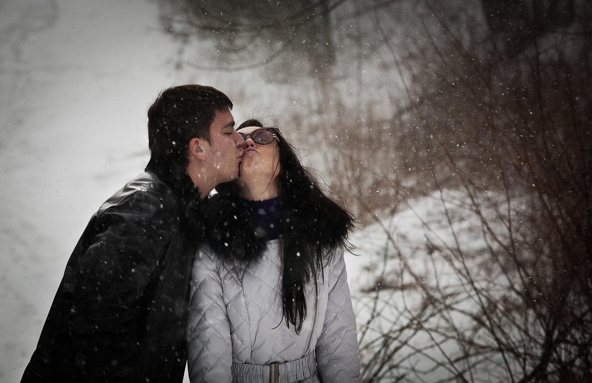 фото снег и поцелуй перепланировка переносом