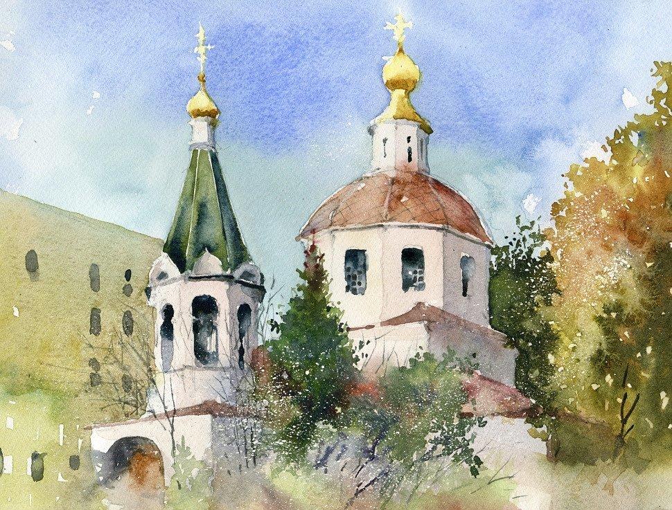 Этюд открытки россия, подружке день