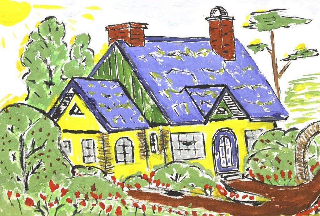 Нарисуйте мне дом картинки