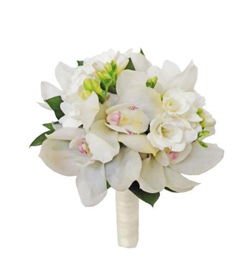 Мелким, легкие свадебный букет из орхидей цена харьков
