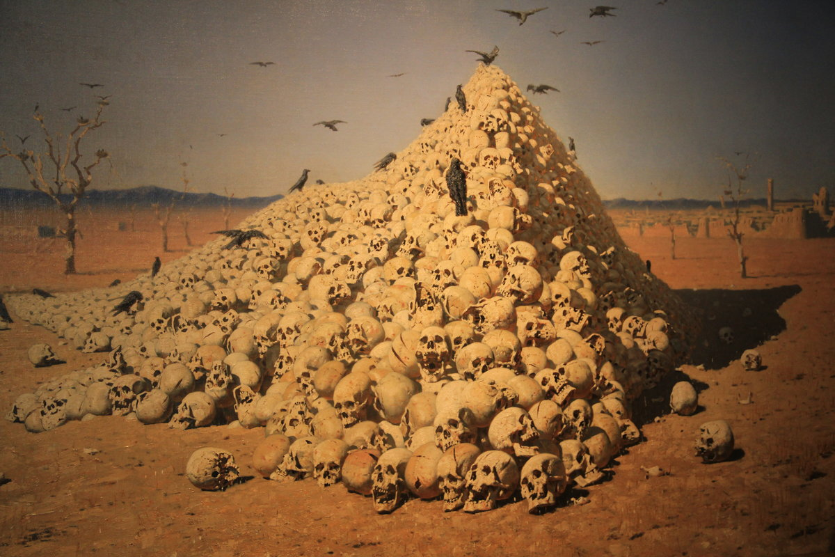 картинка с черепами третьяковская галерея настоящее время