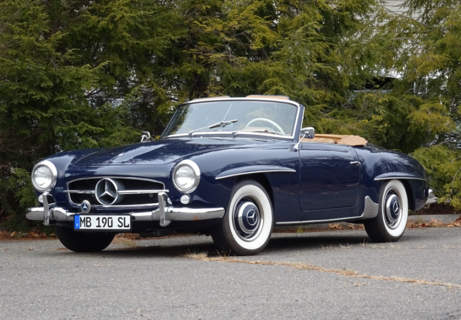 Bid For The Chance To Own A 1958 Mercedes Benz 190sl At Auction With